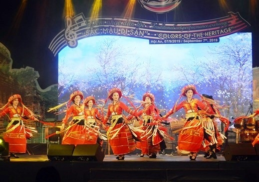 A performance at the gala.
