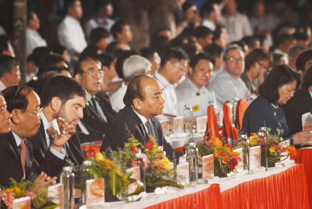 Prime Minister Nguyen Xuan Phuc at the event.