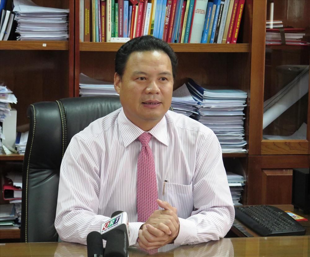 Quang Nam Deputy Chairman Le Van Thanh.