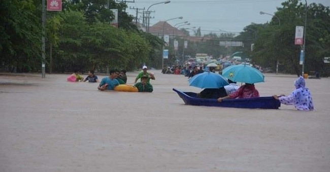 Flood in Southern Laos (nhandan.org.vn)