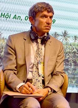 Peter Debrine, Programme Specialist for Sustainable Tourism, UNESCO World Heritage Centre.