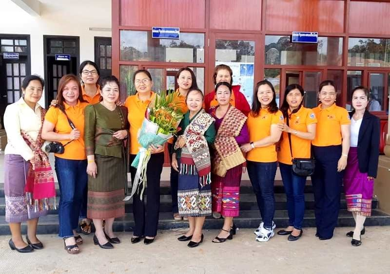 Sekong and Quang Nam Women's Unions.