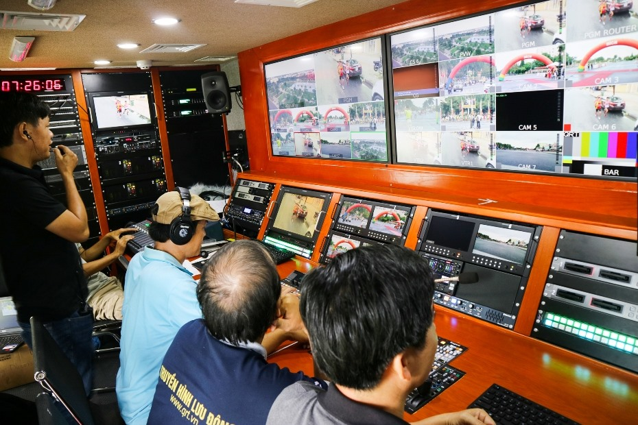 QRT sử dụng công nghệ truyền hình HD và phát sóng 4G cho buổi truyền hình trực tiếp.