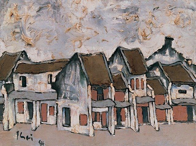 Một số tác phẩm của họa sĩ Bùi Xuân Phái.