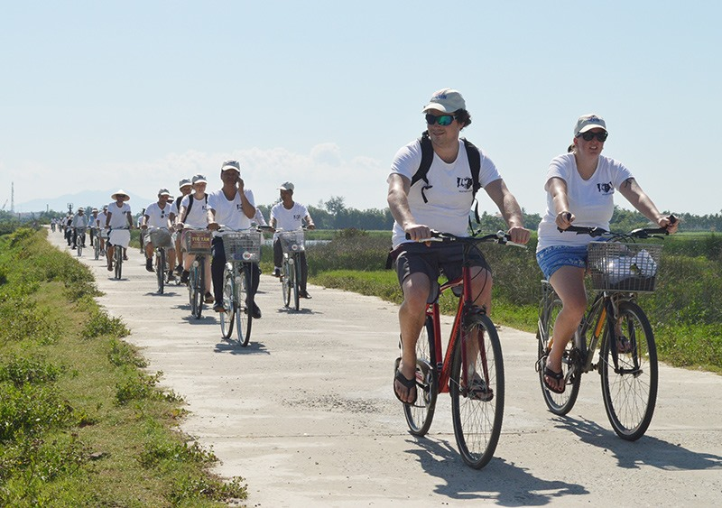 Hoi An tourism space expanded to its suburb.