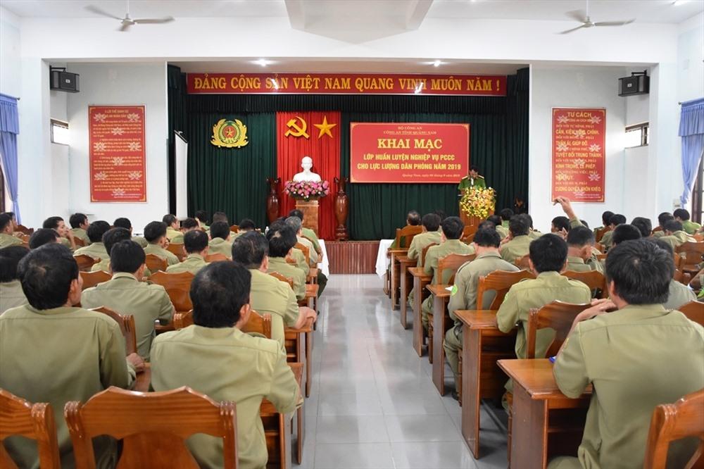 Đông đảo đại biểu tham gia buổi tập huấn. Ảnh: M.T