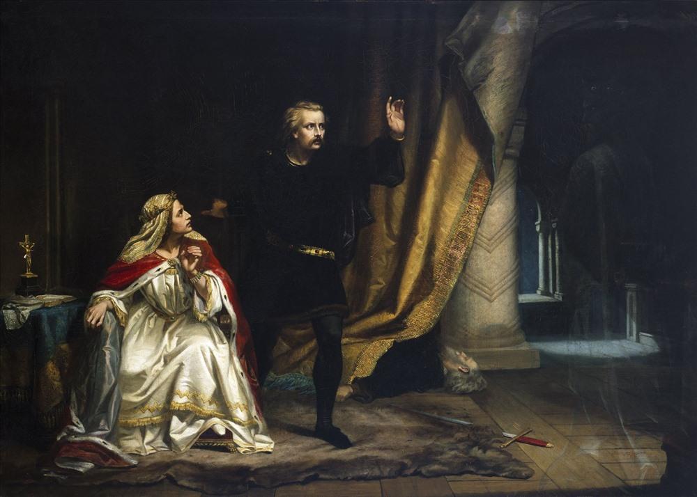"""Nhân vật Hamlet có câu nói nổi tiếng """"To be or not to be, that is the qestion"""". Ảnh: Internet"""
