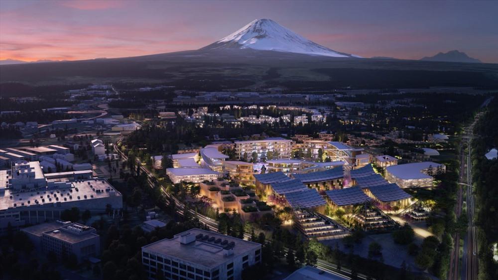 Viễn cảnh thành phố thông minh của tập đoàn Toyota. Ảnh: Toyota/Bjarke Ingels Group