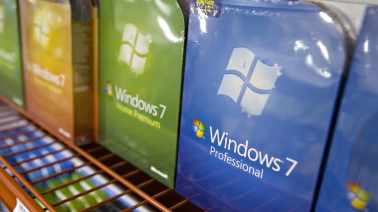 Windows 7 đã chính thức kết thúc sứ mệnh của mình sau một thập kỷ. (Nguồn: Getty Images)