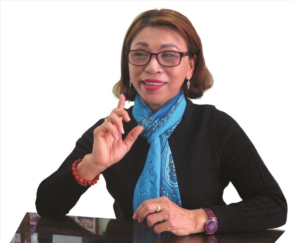 Bà Nguyễn Thị Trang - cây hát hò khoan nổi tiếng của Điện Bàn một thưở. Ảnh: X.H