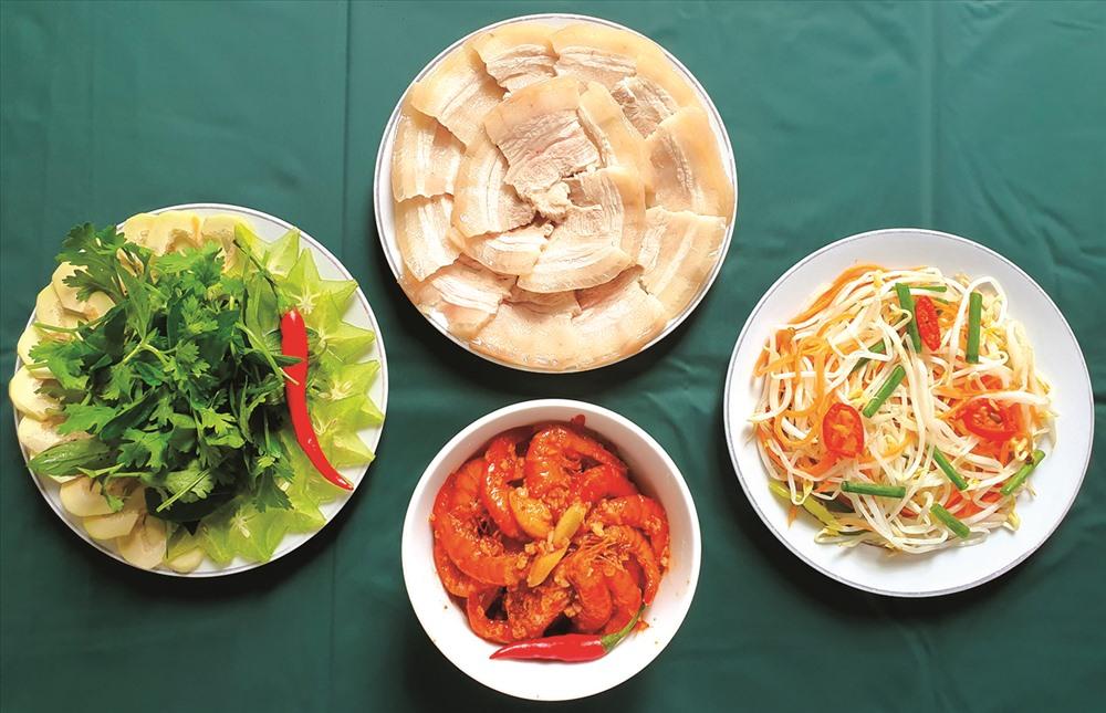 Món ăn kèm thực phẩm lên men.