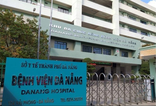 Khu vực cách ly đặc biệt các bệnh nhân nhiễm virus corona mơi tại Bệnh viện Đà Nẵng. Ảnh QL