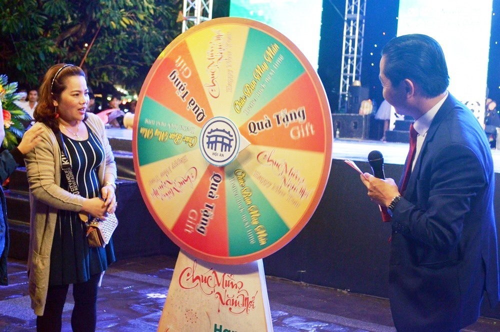 Lottery at the event