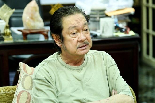 Nghệ sĩ Nguyễn Chánh Tín khi về già.