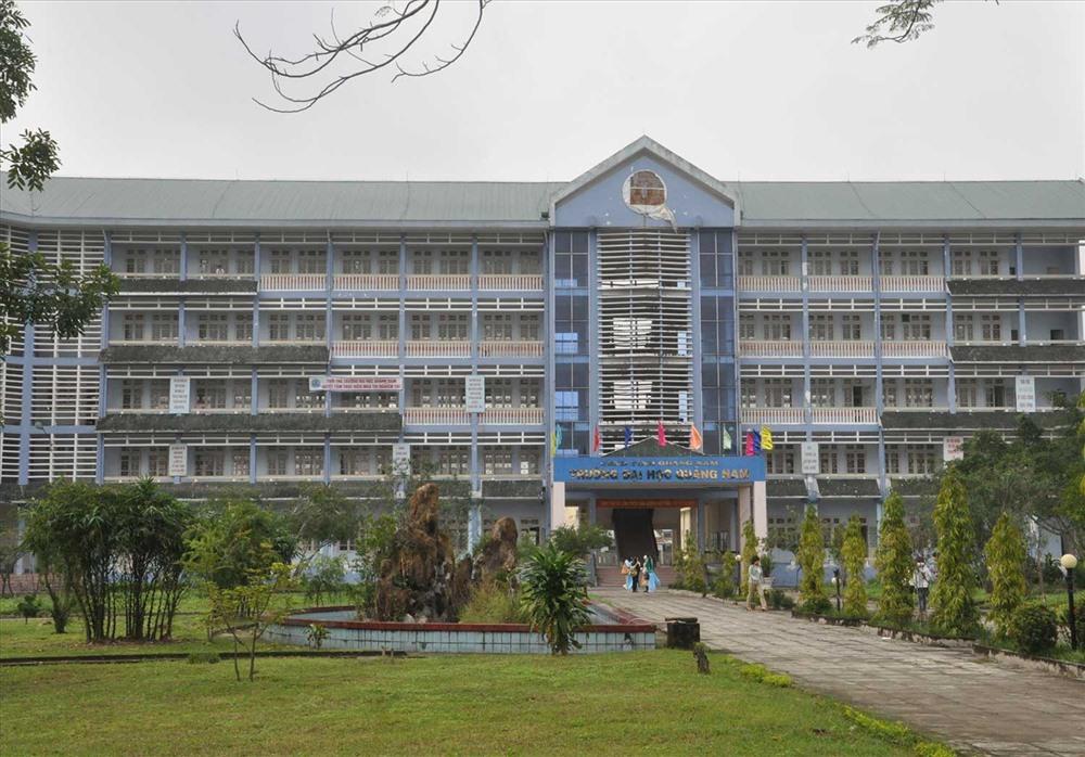 Trường Đại học Quảng Nam đang gặp khó về tuyển sinh. Ảnh: X.P