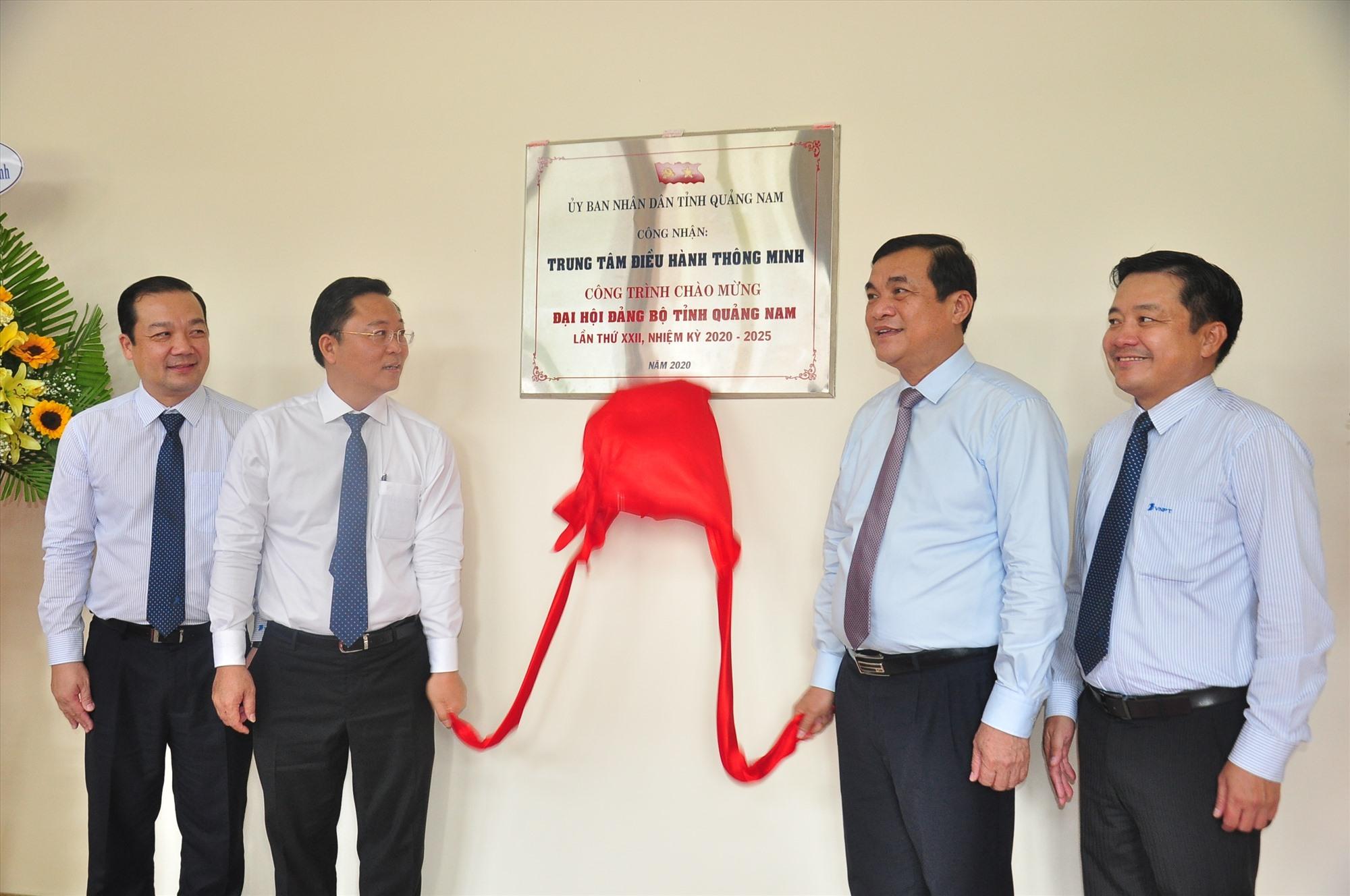 Trung tâm IOC Quảng Nam là một trong những công trình chào mừng Đại hội Đại biểu Đảng bộ tỉnh lần thứ XXII (nhiệm kỳ 2020 - 2025). Ảnh: VINH ANH