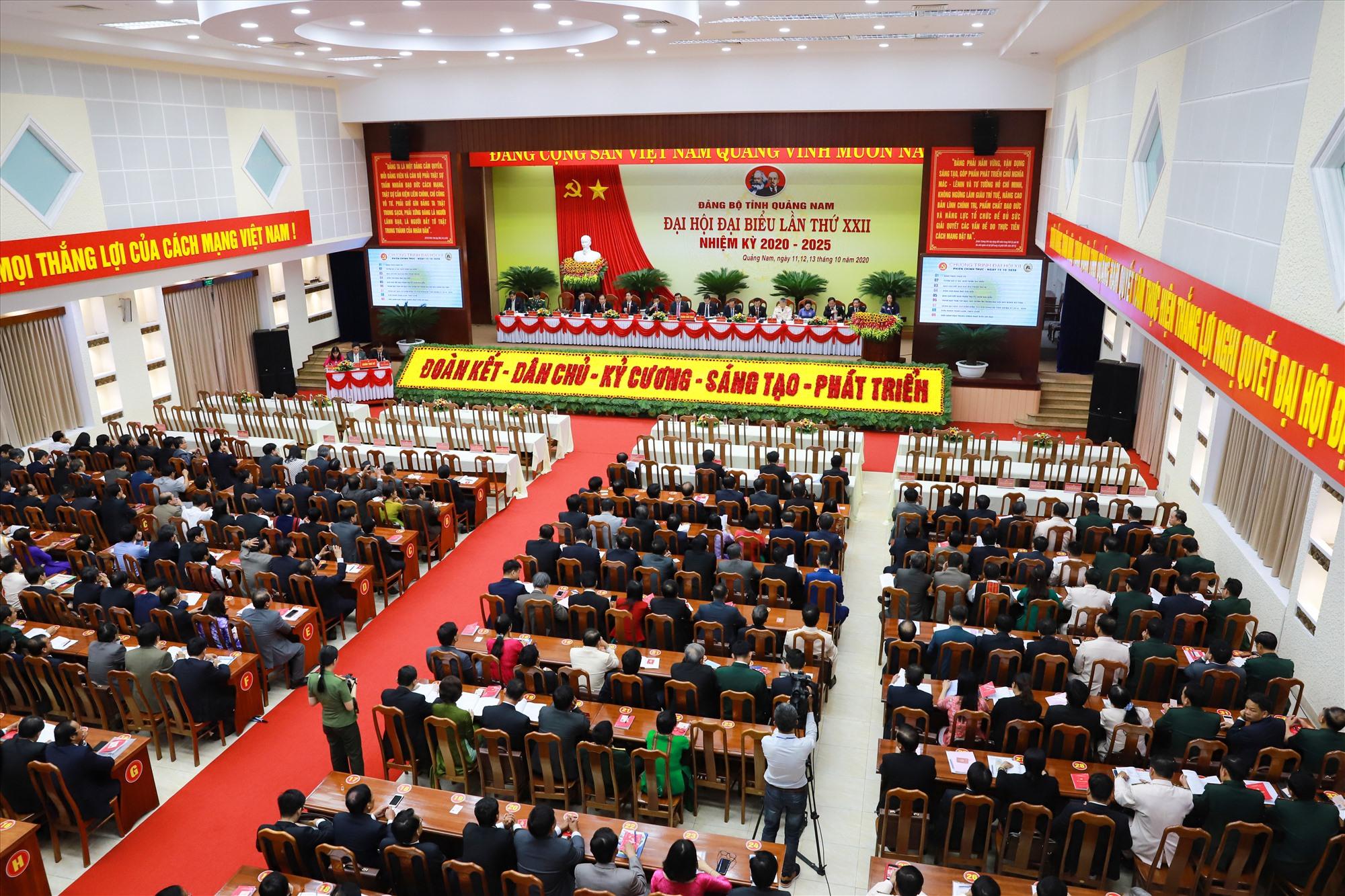 Đại hội đại biểu Đảng bộ tỉnh lần thứ XXII họp phiên trù bị