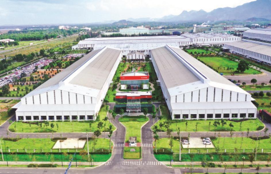 Nhà máy THACO Kia. Ảnh: T.C