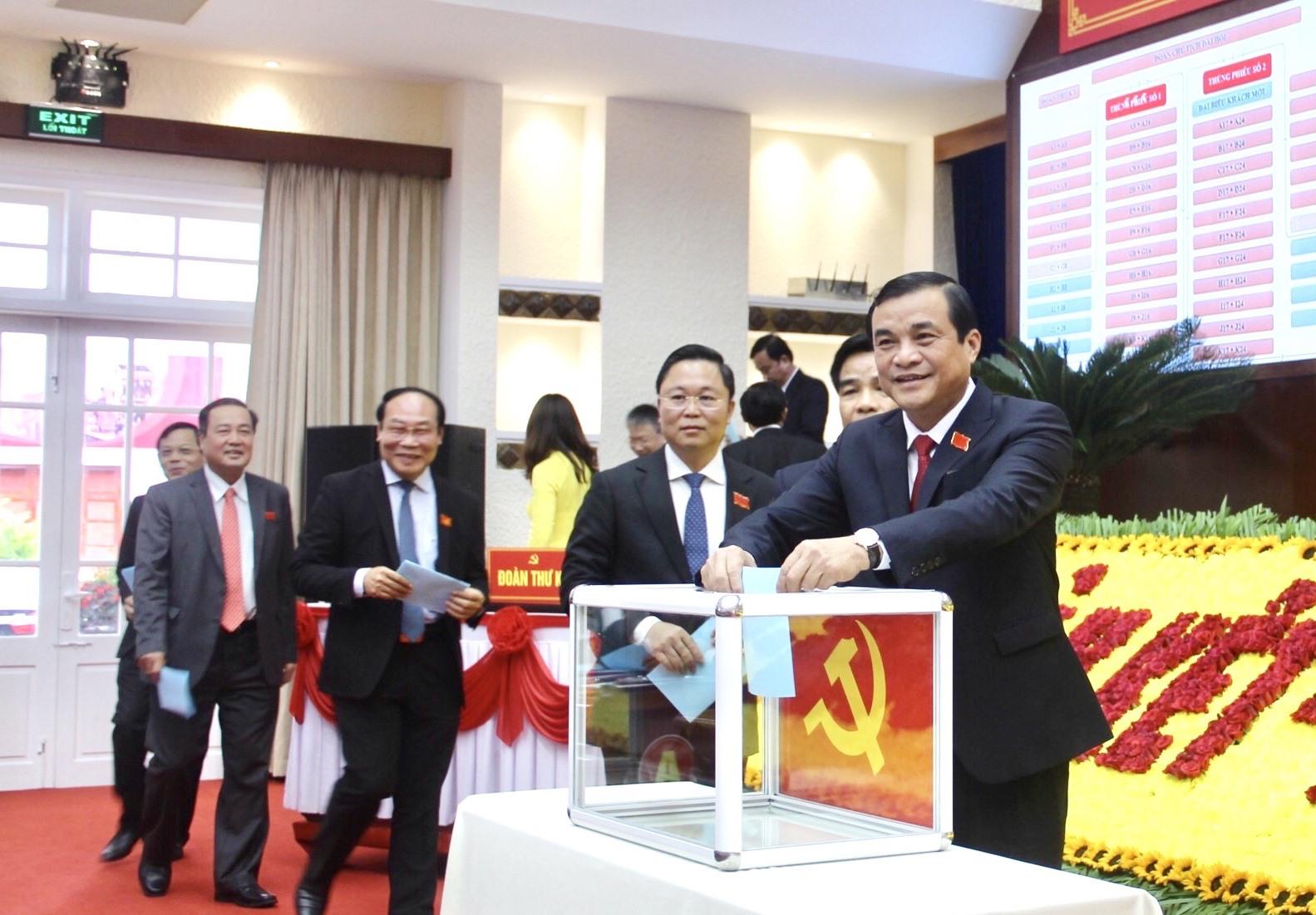 Danh sách Ban Chấp hành Đảng bộ tỉnh Quảng Nam khóa XXII (nhiệm kỳ 2020-2025)