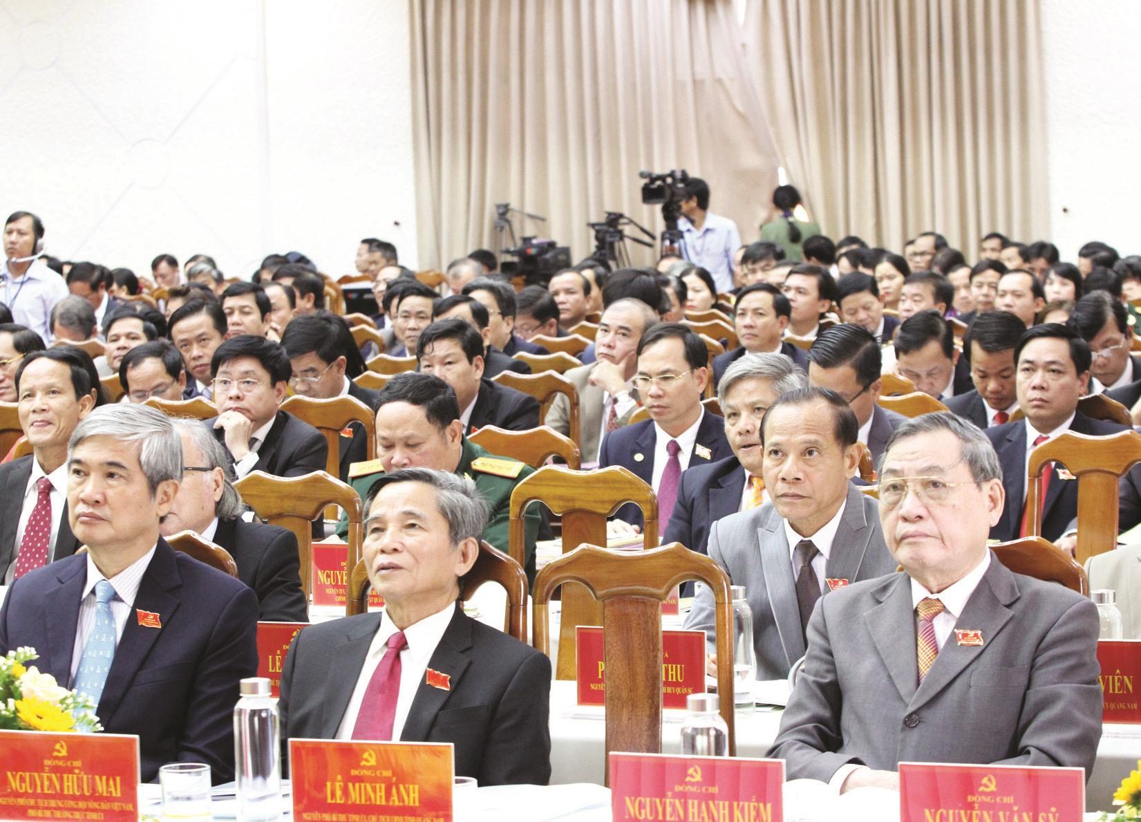 Các đại biểu tham dự Đại hội. Ảnh: C.Đ.N