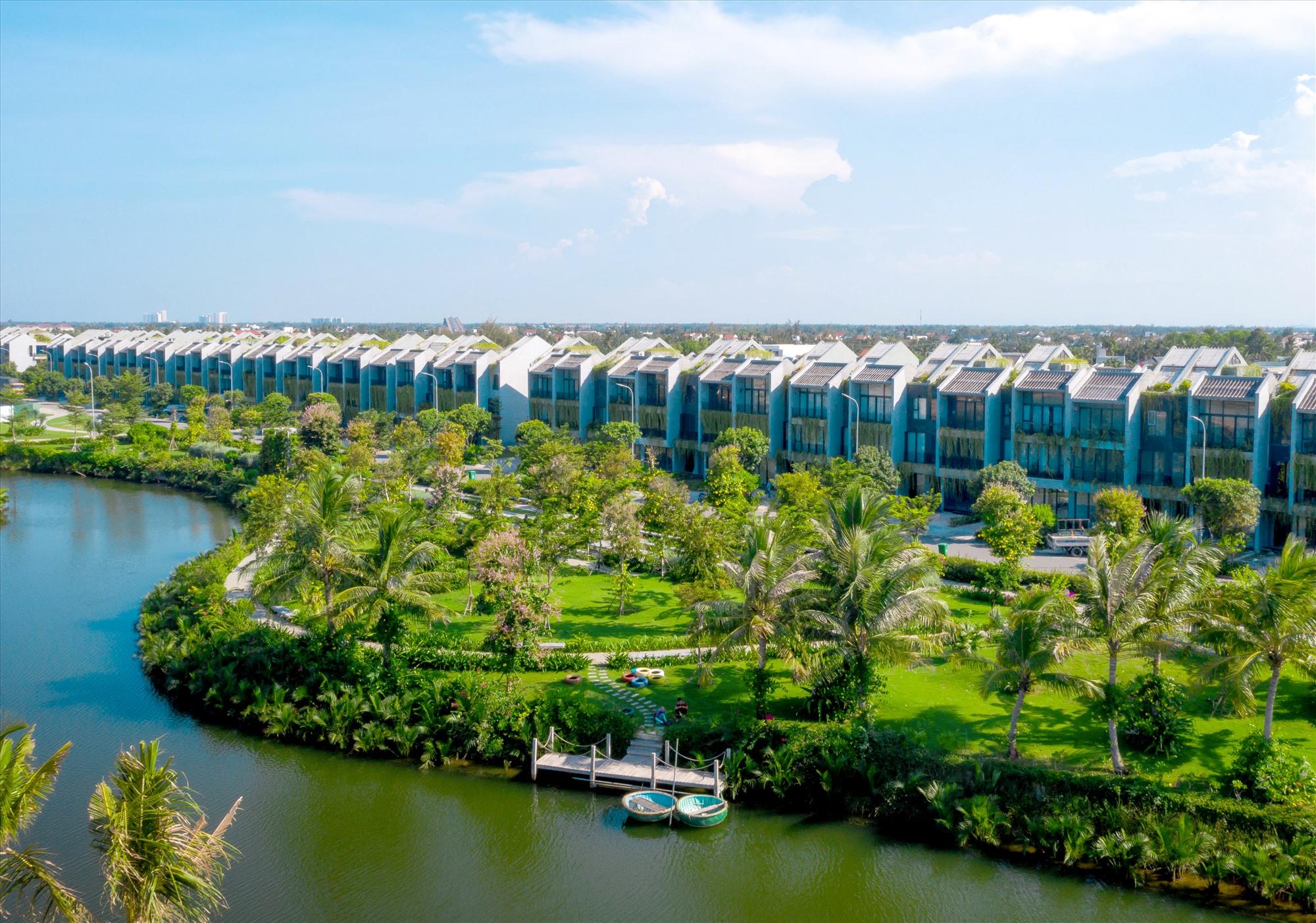 Phát triển đô thị sinh thái ở Hội An. Ảnh: H.P