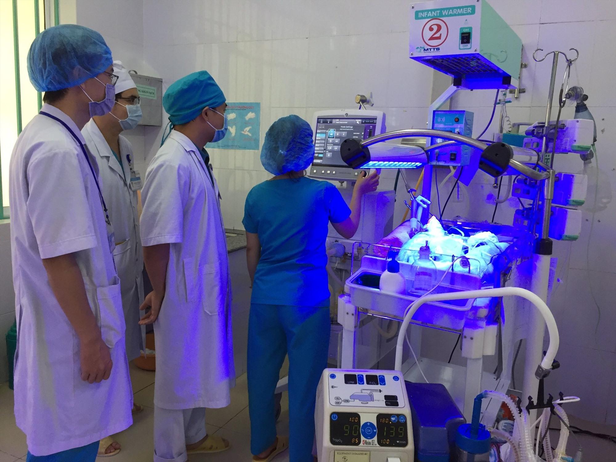 Bệnh viện Phụ sản Nhi đang tích cực cải thiện chất lượng khám chữa bệnh.