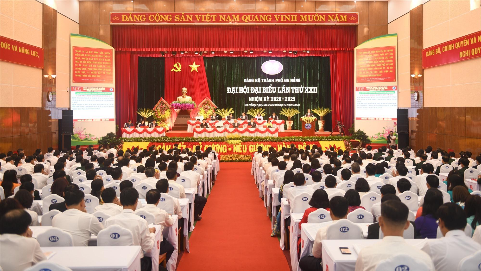 Đại hội đại biểu Đảng bộ TP.Đà Nẵng lần thứ XXII (nhiệm kỳ 2020 - 2025)