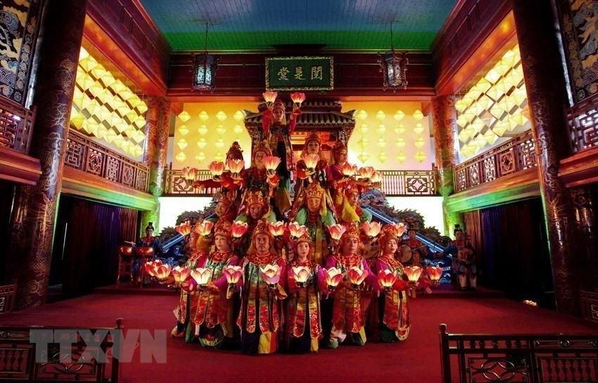 'Nhã nhạc of Hue court' (elegant music) was recognised in 2008 by UNESCO as a masterpiece of the oral and intangible heritage of humanity.