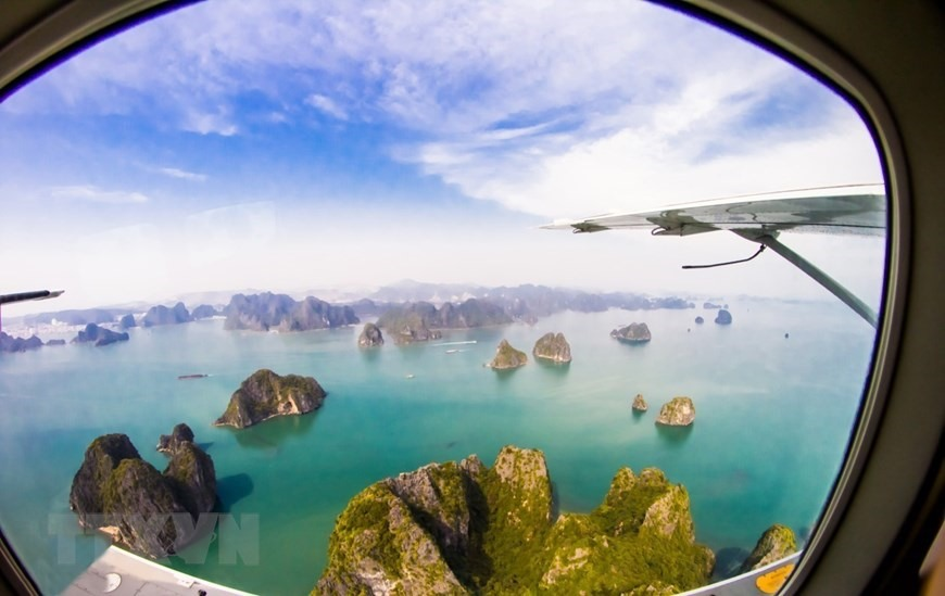 Ha Long Bay is a UNESCO world heritage site in Quang Ninh province. It is also a travel destination popular with domestic and foreign visitors.