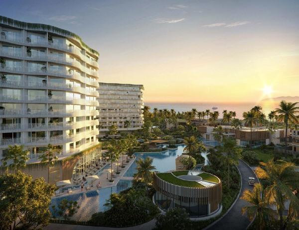 Shantira Beach Resort & Spa at dawn