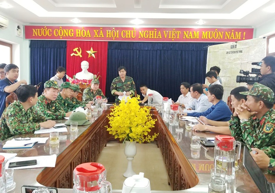 Trưởng ban Nội chính Tỉnh ủy Nguyễn Mạnh Hà chủ trì cuộc làm việc