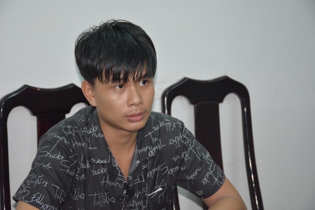 Đại bị bắt sau 3 tháng trốn truy nã vào TP.Hồ Chí Minh. Ảnh: M.T