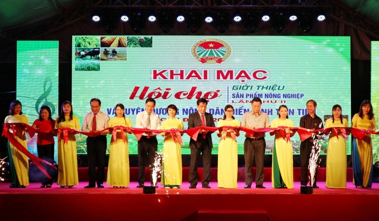 The opening ceremony of the 2nd Agricultural Fair 2020