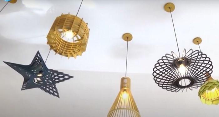 Linh's wooden top lights