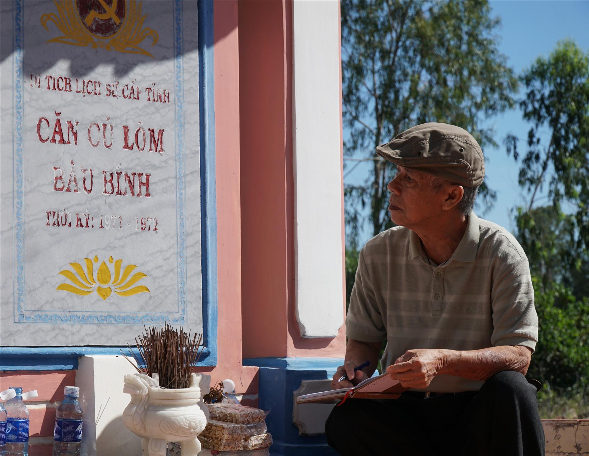 Nhà văn Hồ Duy Lệ trở lại vùng đông.