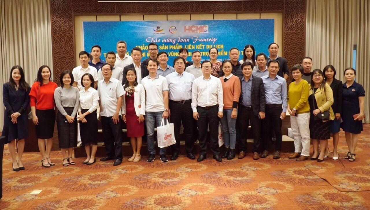 Đoàn famtrip du lịch TP.Hồ Chí Mihh khảo sát tiềm năng, cơ hội hợp tác với du lịch Quảng Nam.
