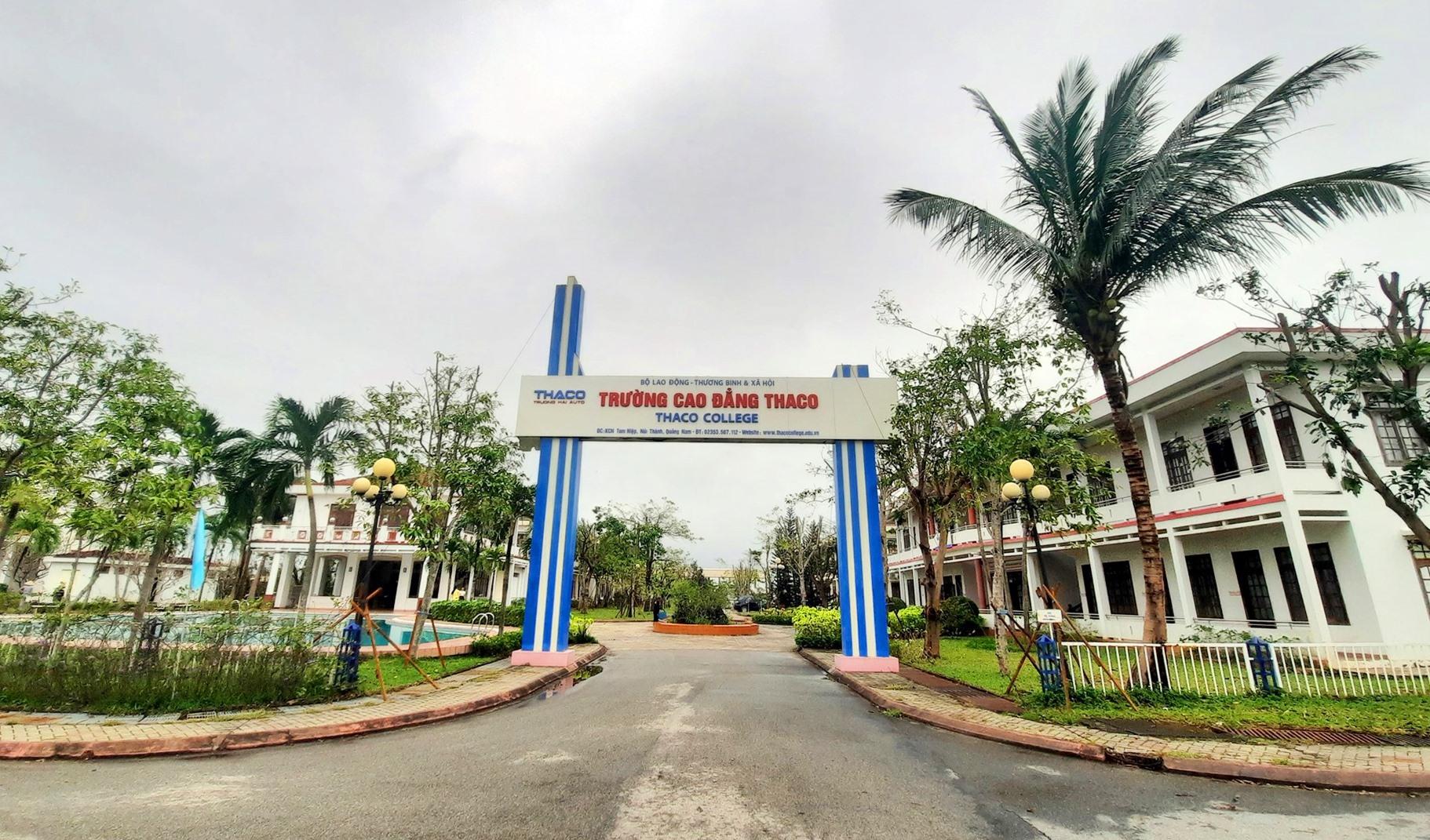 Năm học 2020 - 2021, Trường Cao đẳng Thaco tuyển sinh hơn 300 học sinh, sinh viên. Ảnh: Đ.ĐẠO