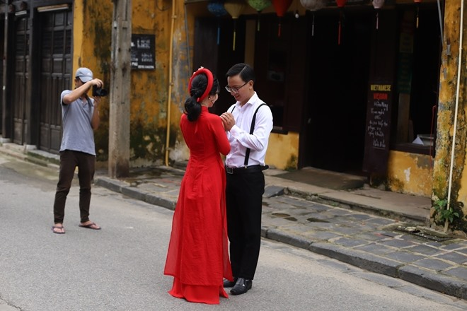 Hoi An is a favourite destination for both foreign and domestic visitors.
