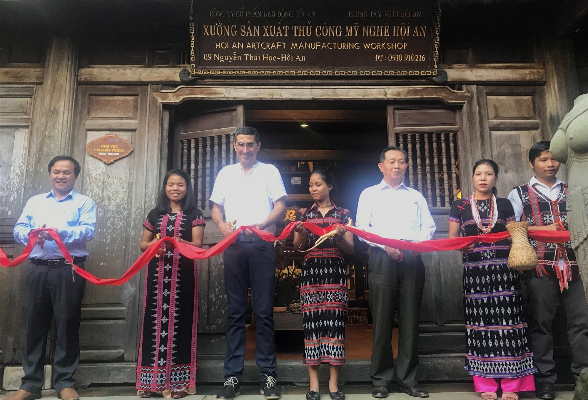 Opening ceremony of Hoi An design centre