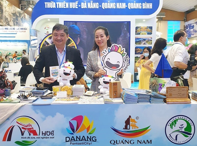 Booth of Four localities, One destination at the VITM