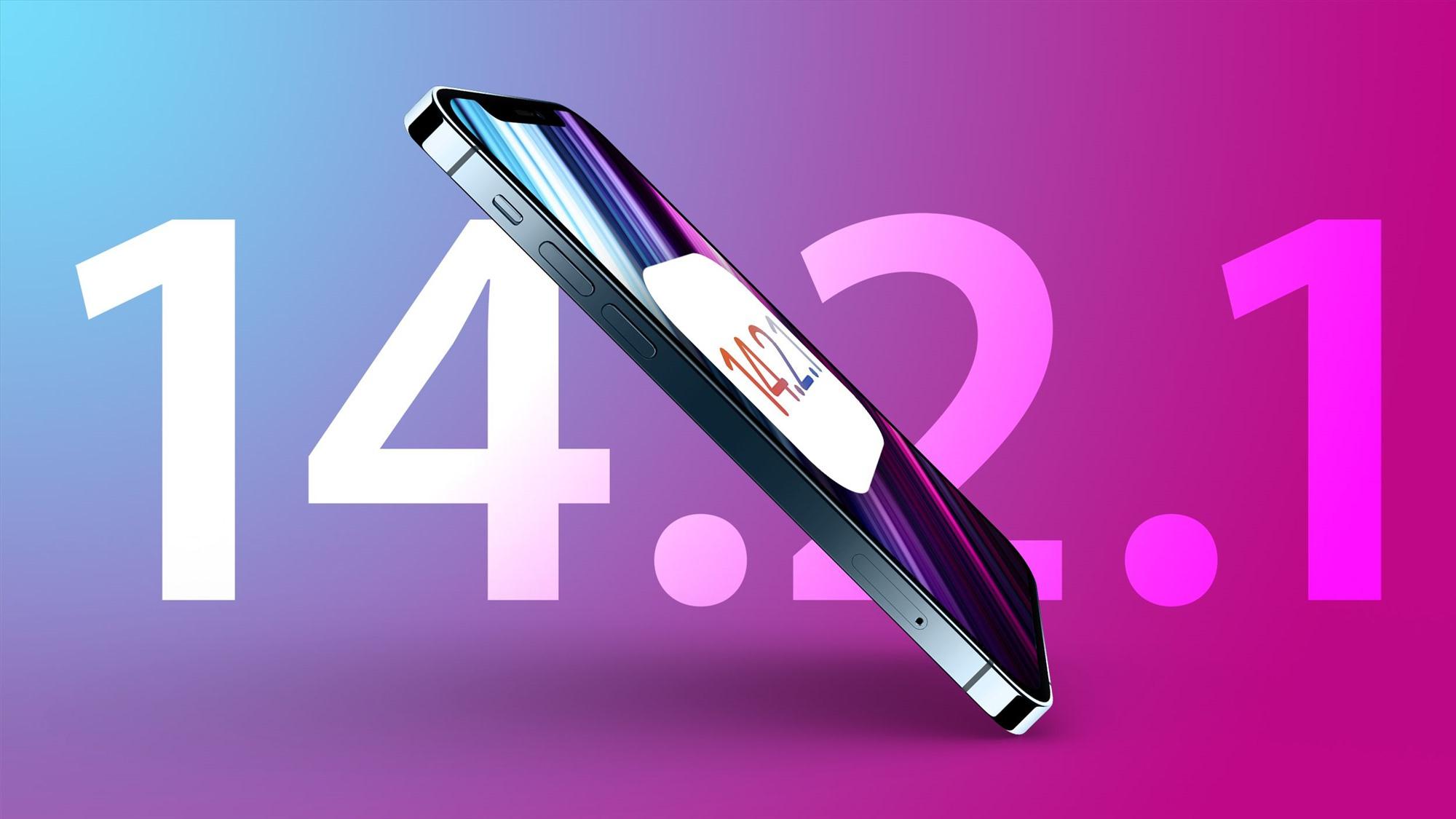 Bản cập nhật iOS 14.2.1 được ra chỉ một tuần sau khi Apple mở bán iPhone 12 mini và iPhone 12 Pro Max trên toàn cầu.
