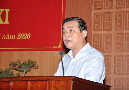 Quang Nam provincial Party Secretary Phan Viet Cuong