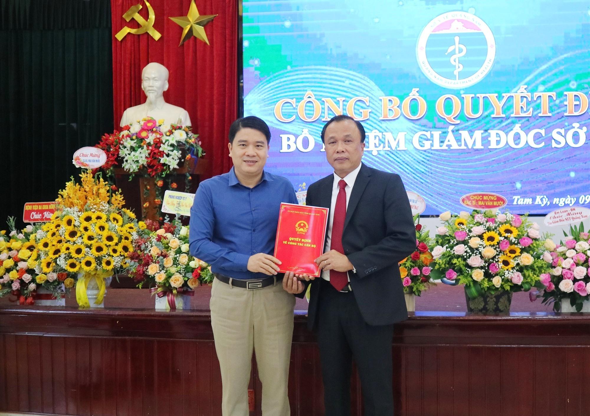 Quảng Nam điều động và bổ nhiệm 3 Giám đốc Sở - Ảnh 3.
