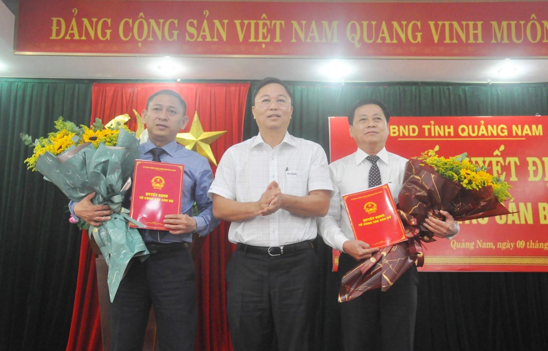 Quảng Nam điều động và bổ nhiệm 3 Giám đốc Sở - Ảnh 1.