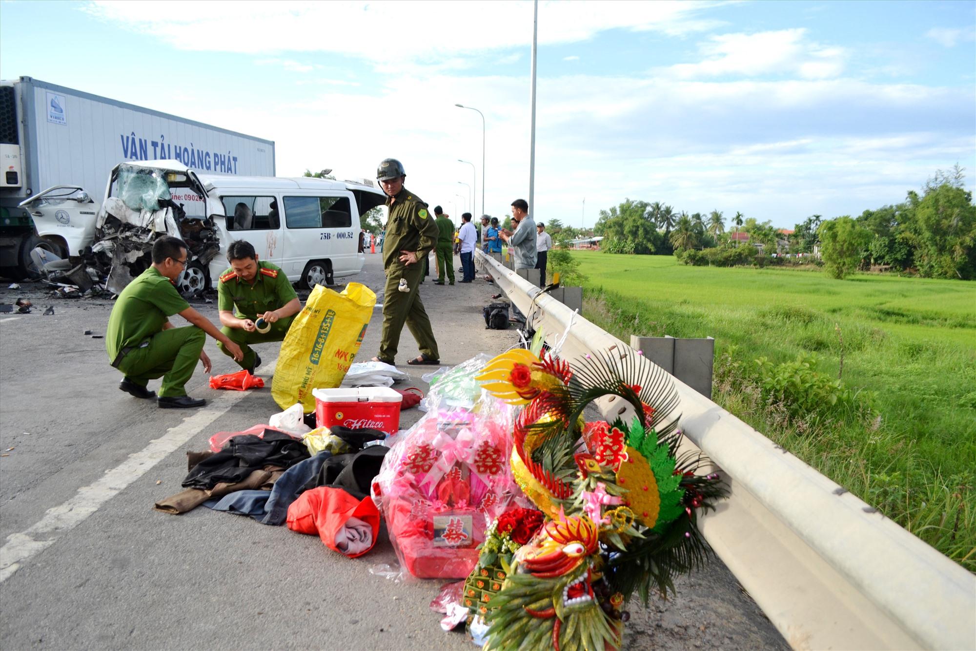 Vụ TNGT sáng ngày 30.7.2018 biến ngày đại hỷ của một thanh niên xã Hải Sơn, huyện Hải Lăng (Quảng Trị) thành ngày đại tang.