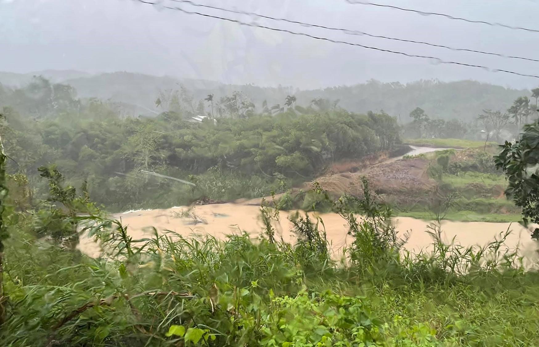 Khu vực được xác định là nơi nạn nhân bị đuối nước.