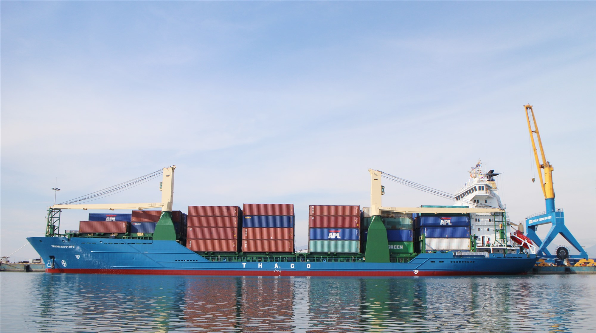 Vì mục tiêu phát triển, Quảng Nam định hướng phối hợp, kêu gọi đầu tư xây dựng cảng biển Chu Lai thành cảng loại 1 quốc gia. Ảnh: T.S