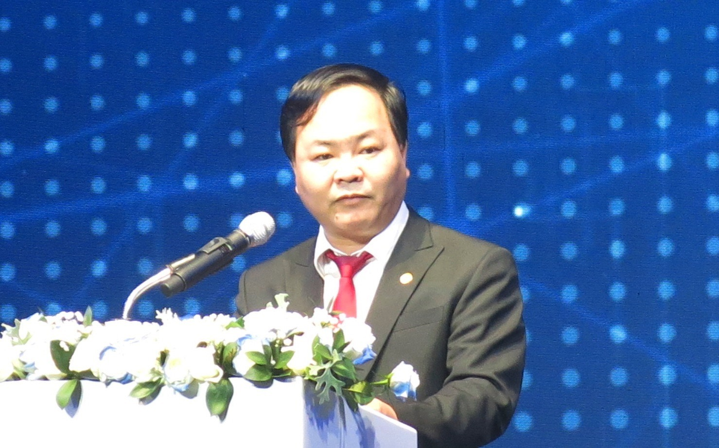 Nguyen Hong Quang at the event