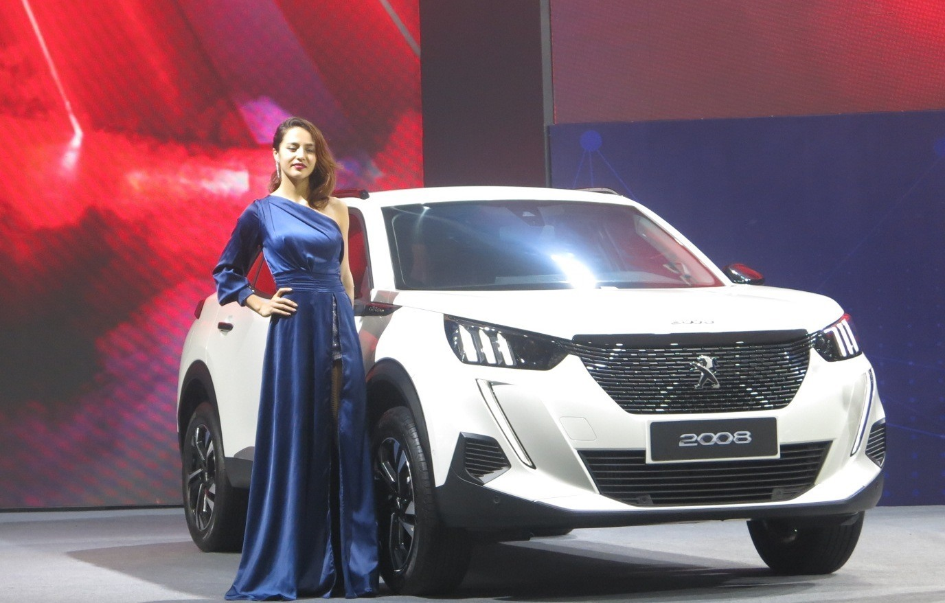 An SUV Peugeot 2008 at the event