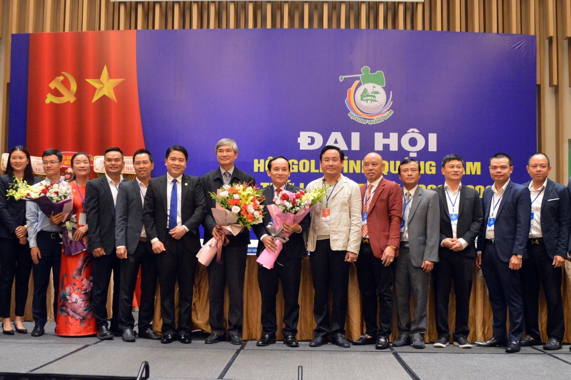 Ban chấp hành Hội Golf tỉnh Quảng Nam nhiệm kỳ 2020 - 2025